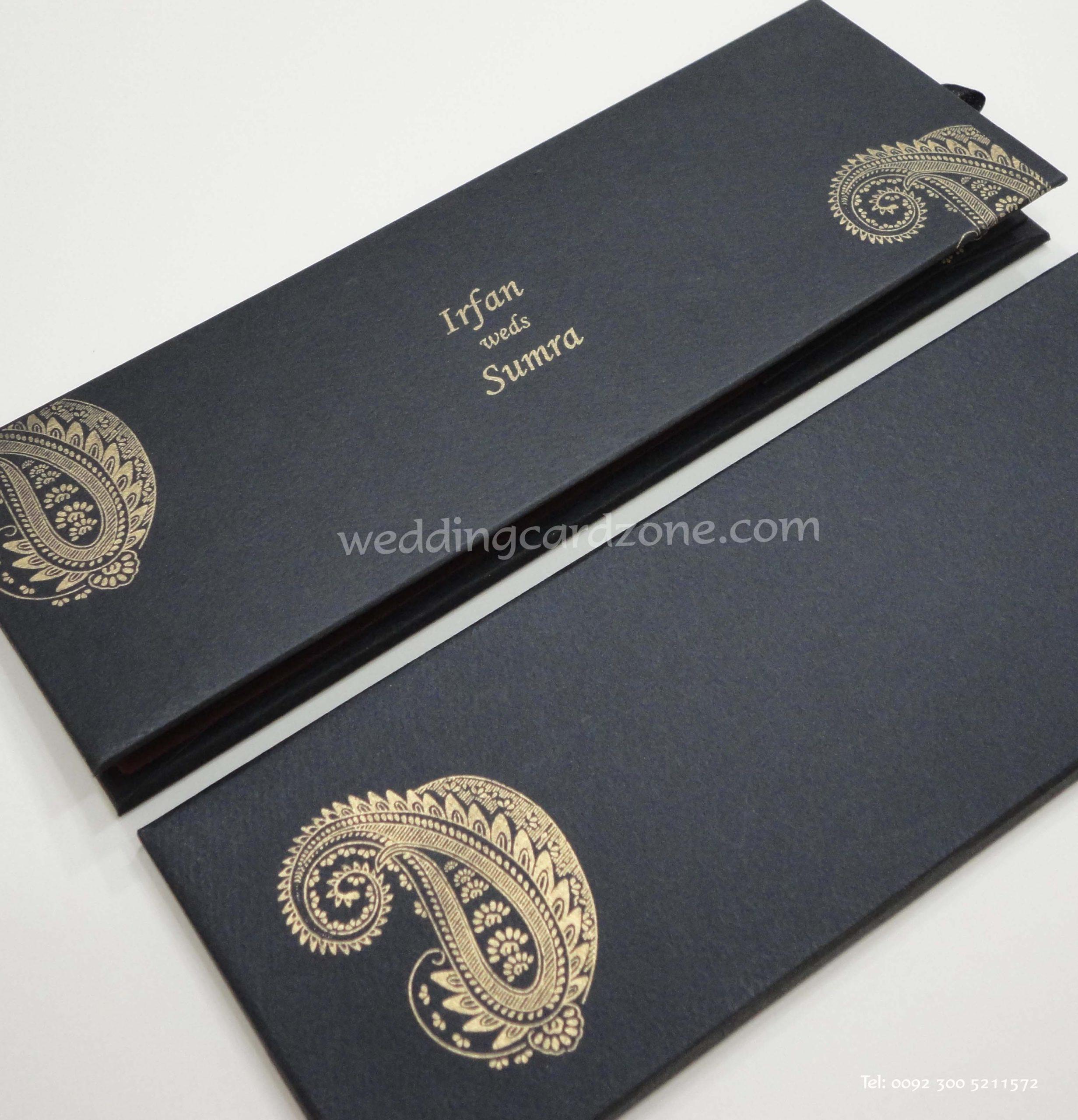 Pakistani Wedding Cards Wedding Cards Collection Pakistan Muslim Wedding Cards Scroll Invitations